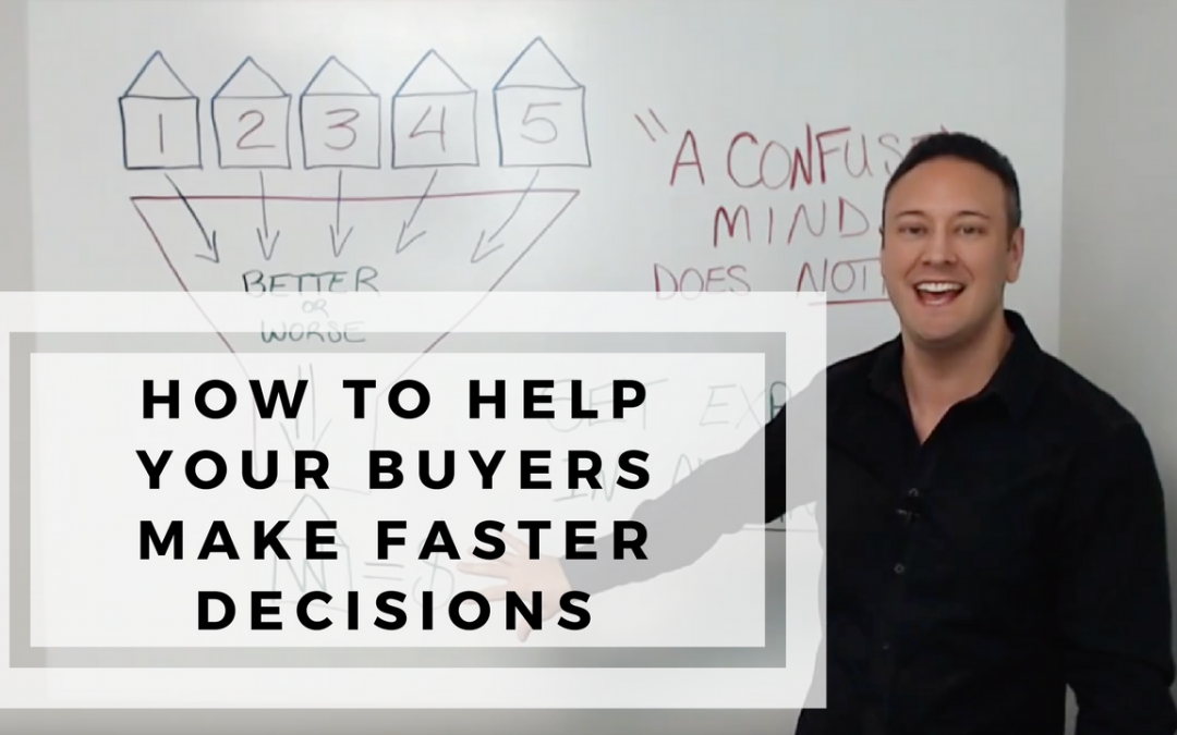 How to Help Your Buyers to Make Faster Decisions